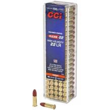 100 munitions CCI Clean-22 High Velocity cal. .22 L