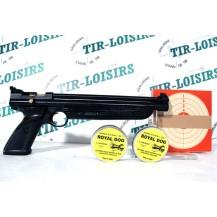Crosman 1322, pack pistolet à plombs