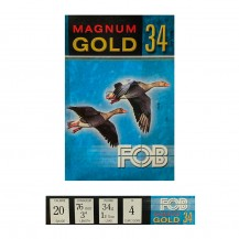 10 munitions FOB Magnum Gold 34 20/76, pb au choix