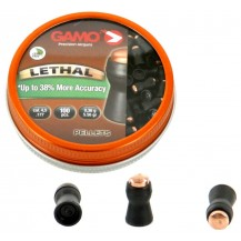 100 plombs Gamo Lethal, 4.5 mm