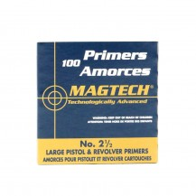 100 Amorces Magtech Large Pistol No. 2½