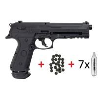 Pistolet de défense LTL Alfa CO2 cal. .50 18 J pack