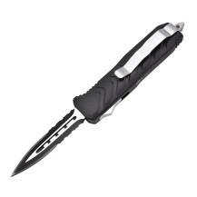 Couteau automatique Max Knives noir, lame 6,5 cm