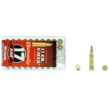 50 munitions Hornady V-Max, calibre 17 HMR