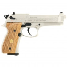 Beretta M92FS Nickel Wood Grips Umarex