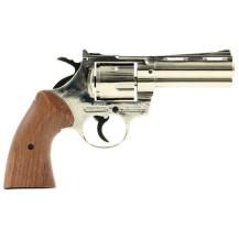 Revolver Bruni Magnum nickelé - Type Python