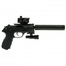 Gamo P25 Tactical Blowback - pack pistolet à plombs