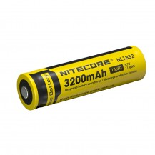 Batterie Accu Nitecore 18650 Li-ion NL 1832 3200 mAh