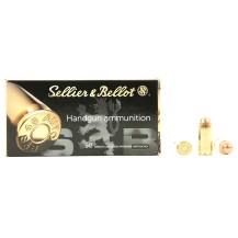 50 munitions Sellier & Bellot, calibre .45 ACP
