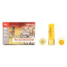 10 cartouches Winchester Special Fibre, 20/70 28 g.