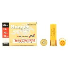10 cartouches Winchester Ranger Disperser, cal. 20/70