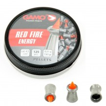125 plombs Gamo Red Fire, 4.5 mm