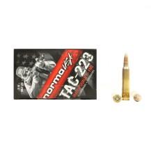 20 munitions Norma TAC-223 cal. 223 Rem. 55 gr FMJ