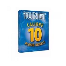 10 cartouches Tunet plomb nickelé, 10/89 n° au choix