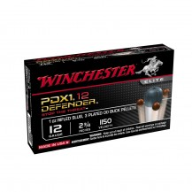 10 munitions Winchester Defender PDX1, 12/70 28g