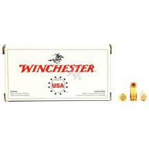 50 munitions Winchester FMJ 180 Gr, calibre 40 SW