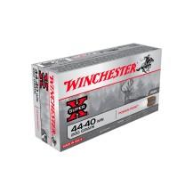 50 munitions Winchester Super X cal. .44-40 Win 200 gr