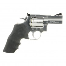 "Revolver Dan Wesson 715 2.5"" nickelé, calibre 4.5 mm diabolo"