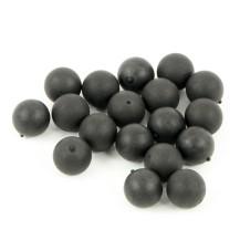 20 balles caoutchouc de diamètre 20 mm