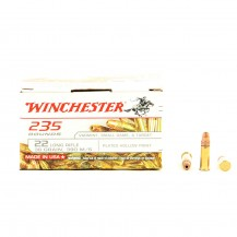 235 munitions Winchester Plated Hollow Point .22 LR