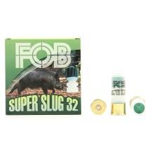25 cartouches Fob/Tunet Super Slug, 32 grammes