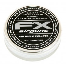 500 plombs Fx Airguns, 4,5 mm
