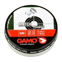 500 plombs Gamo Match, calibre 4.5 mm diabolo