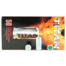 50 cartouches à blanc Titan, calibre 9mm PAK