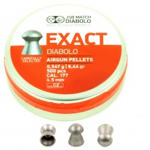 500 plombs JSB Exact Diabolo, 4.5 mm