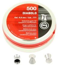 500 plombs Geco diabolo plats calibre 4.5 mm