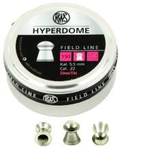 200 plombs RWS Hyperdome, calibre 4.5 mm