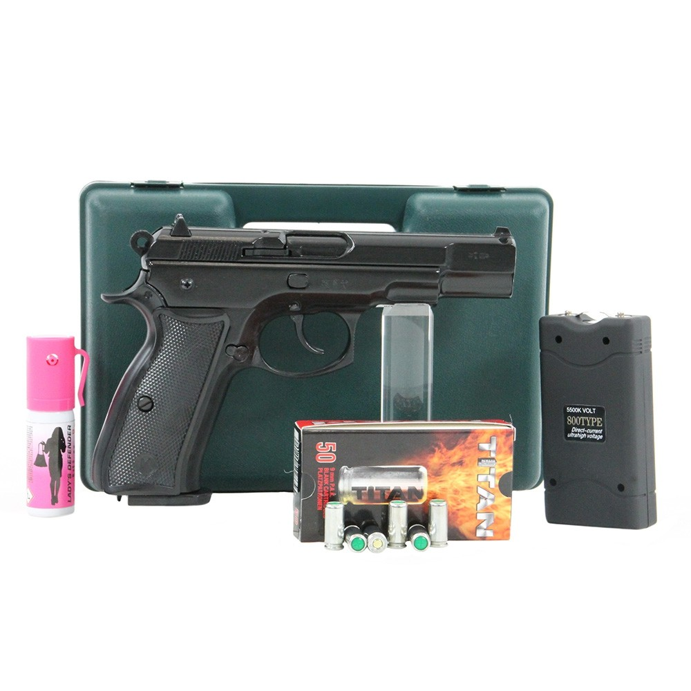 pistolet kimar 75 auto pack lectrique discount pack arme de d fense arme de d fense la. Black Bedroom Furniture Sets. Home Design Ideas