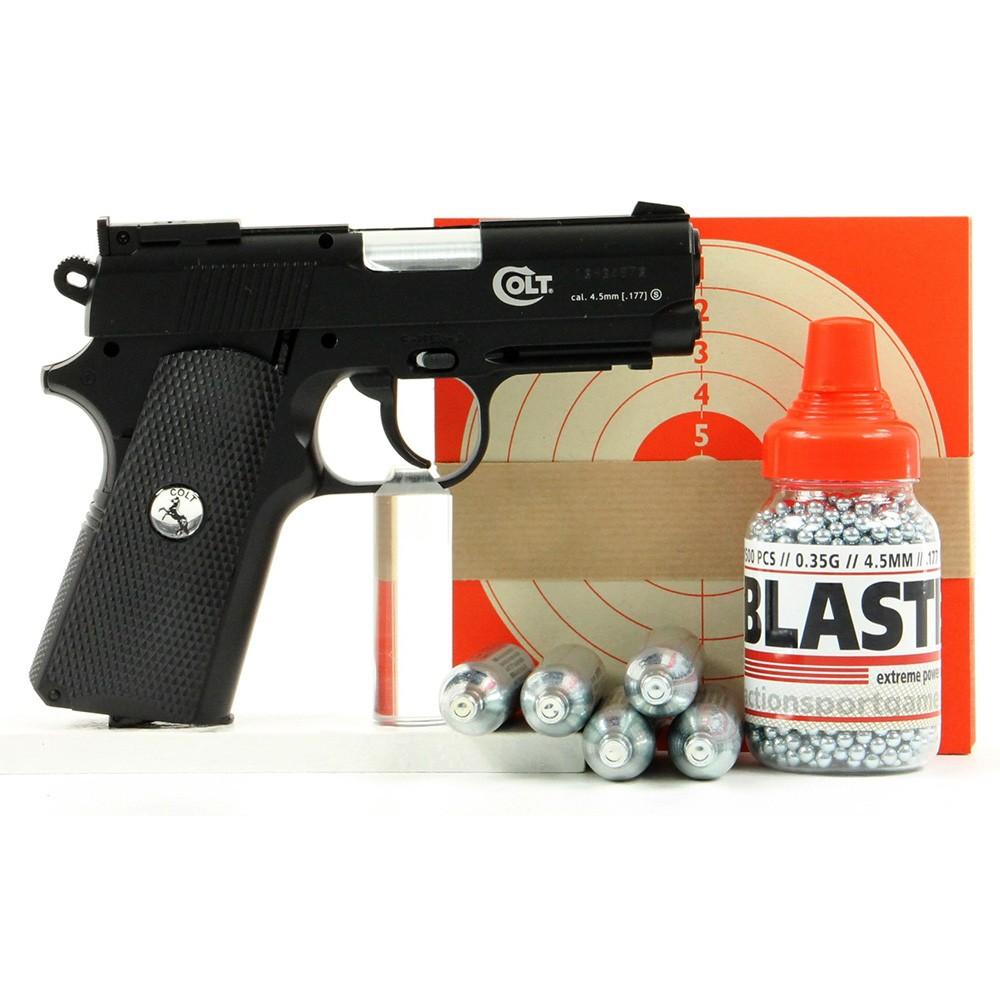 colt defender umarex pack pistolet bille d 39 acier. Black Bedroom Furniture Sets. Home Design Ideas