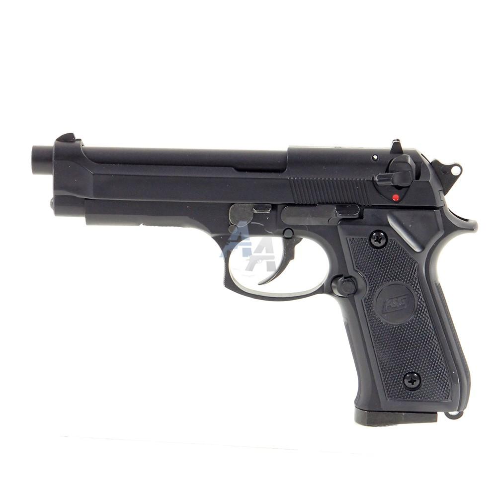 pistolet asg m92f gaz calibre 6 mm bb airsoft. Black Bedroom Furniture Sets. Home Design Ideas