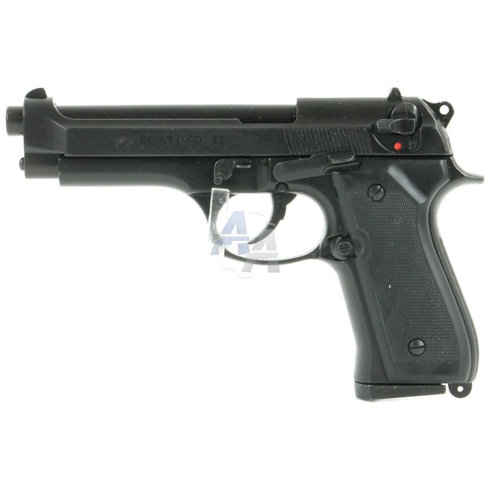 pistolet bruni 92 noir pack lectrique luxe pack arme de d fense arme de d fense la d fense. Black Bedroom Furniture Sets. Home Design Ideas