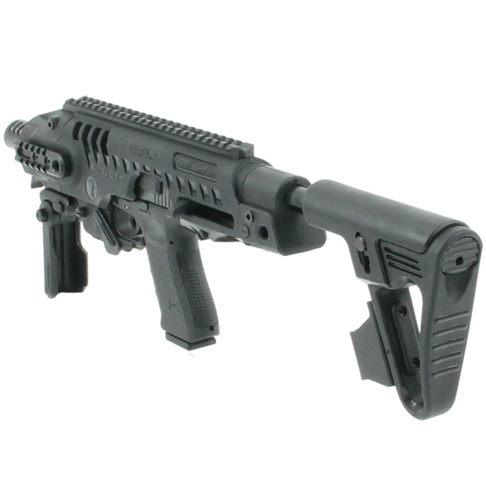 Crosse tactical FAB DEFENSE KPOS avec crosse M4 et vise