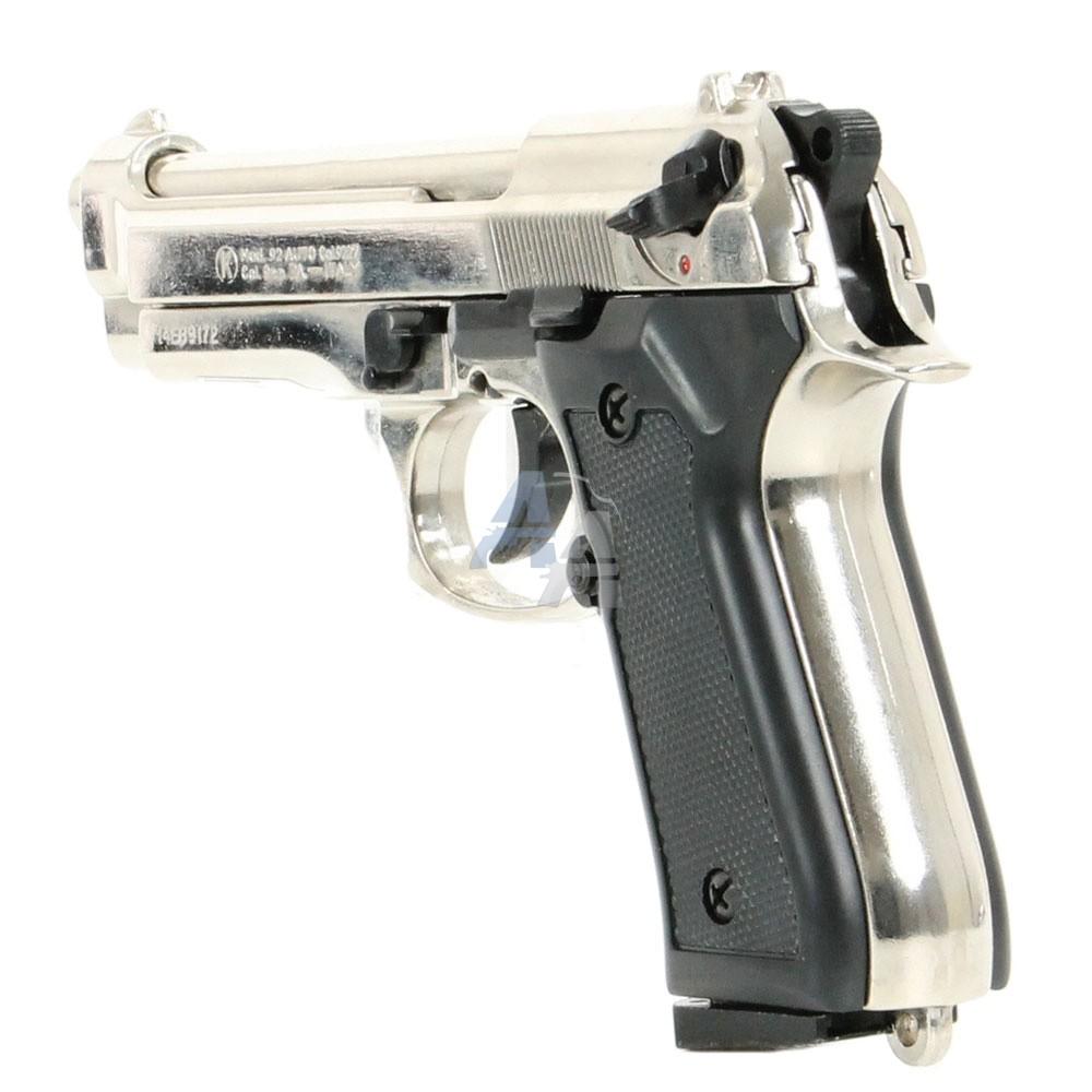 pistolet kimar 92 chrom pack lectrique discount pack arme de d fense arme de d fense la. Black Bedroom Furniture Sets. Home Design Ideas