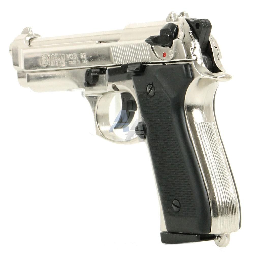 pistolet bruni 92 nickel pack lectrique discount pack arme de d fense arme de d fense la. Black Bedroom Furniture Sets. Home Design Ideas