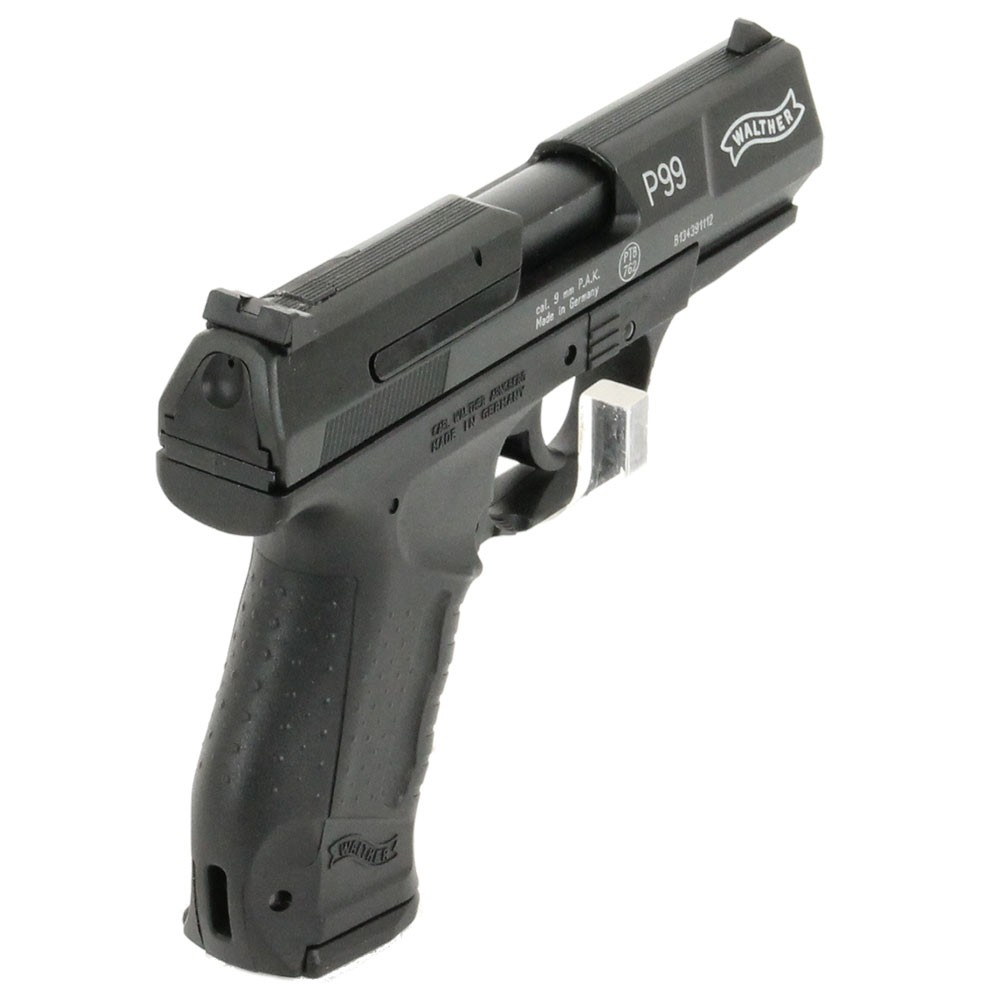 pistolet walther p99 noir umarex 9mm pak pistolets. Black Bedroom Furniture Sets. Home Design Ideas