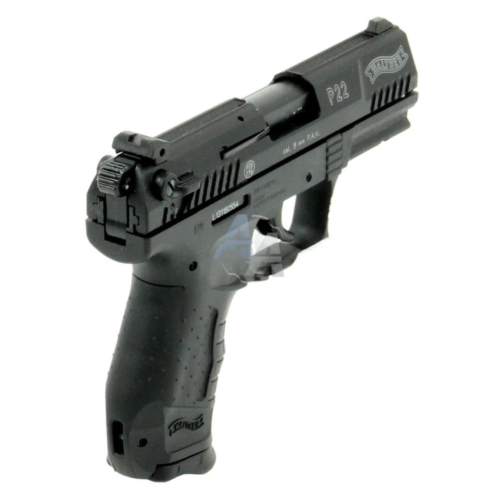 pistolet blanc walther p22 umarex finition au choix. Black Bedroom Furniture Sets. Home Design Ideas